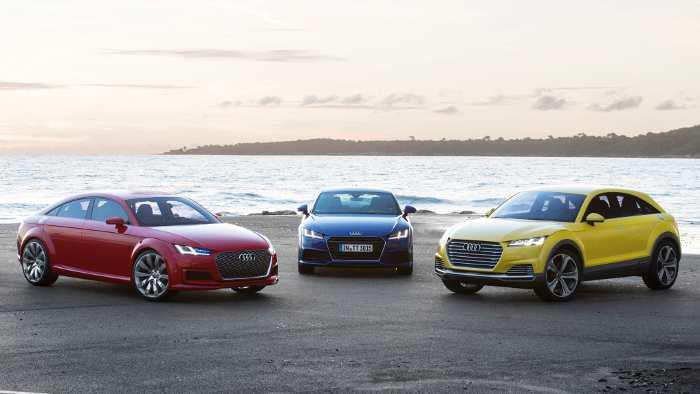 Die Audi TT-Familie