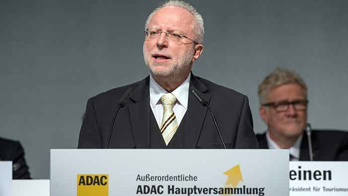 ADAC-Präsident August Markl