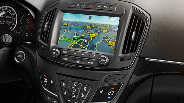 Opel hat im Insignia Country Tourer schon das neue Infotainmentsystem verbaut.