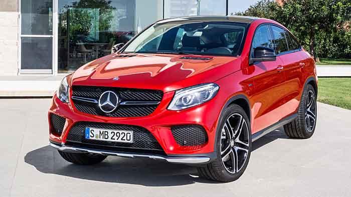 Der Mercedes GLE Coupe kostet fast 67.000 Euro.