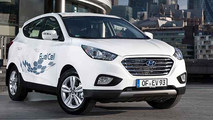 Der Hyundai ix35 Fuel Cell kann für 1150 Euro monatlich geleast werden.