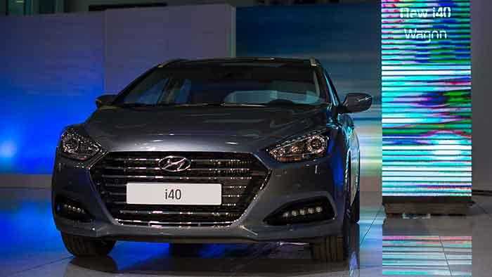 Der i40 nimmt eine wesentliche Rolle im Flottengeschäft von Hyundai ein.