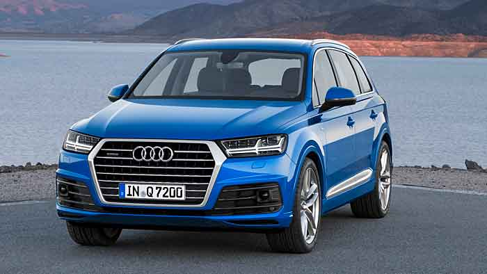 Der Audi Q7 bekommt neue Motoren.
