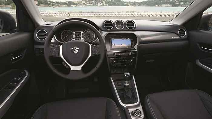 Abzuge Im Innenraum Des Suzuki Vitara