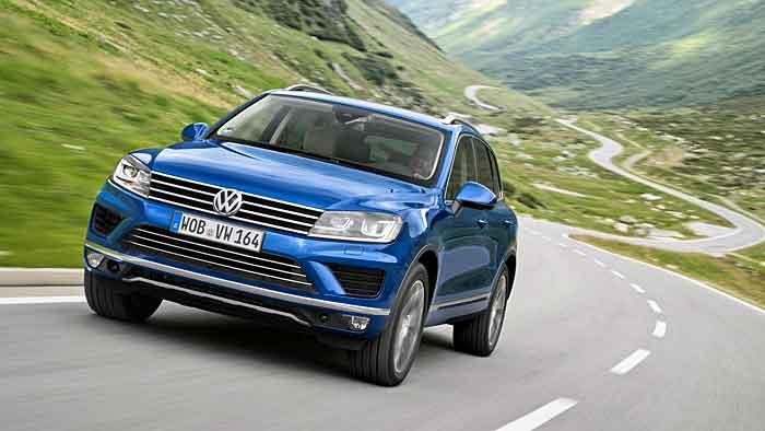 Der VW Touareg hat in zweiter Generation abgespeckt.