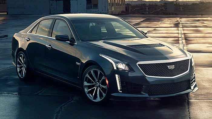 Der Cadillac CTS-V erreicht in 3,7 Sekunden knapp 100 km/h.