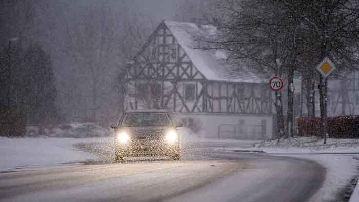 Im Winter den Motor schnell auf Temperatur bringen.