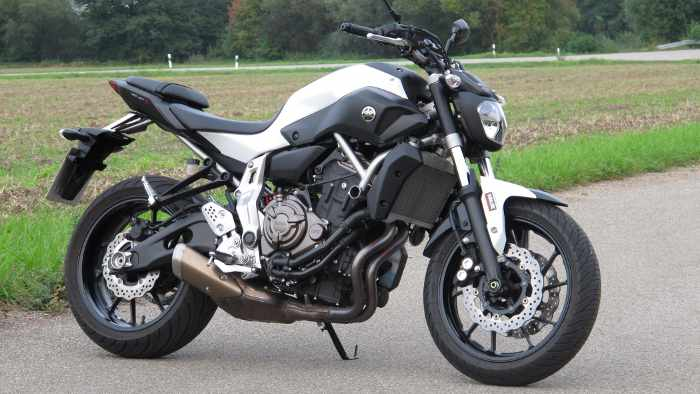 Die Yamaha MT-07