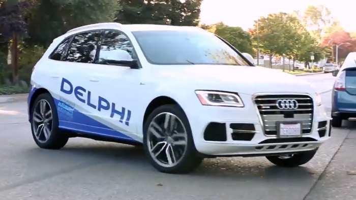 Mit einem Audi SQ5 soll die Testfahrt durchgeführt werden.