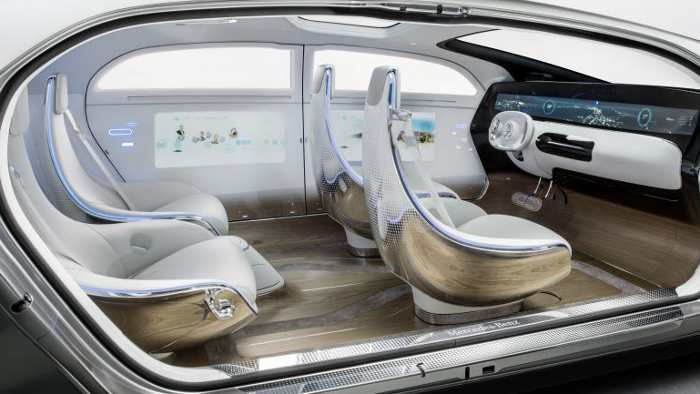 Innenraum des Mercedes F 015