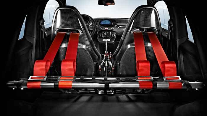 Der Abarth 695 Biposoto ist der stärkste Vertreter der 500er-Reihe.