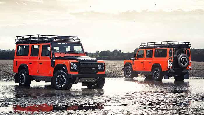 200 Einheiten des Land Rover Defender Adventure kommen nach Deutschland.