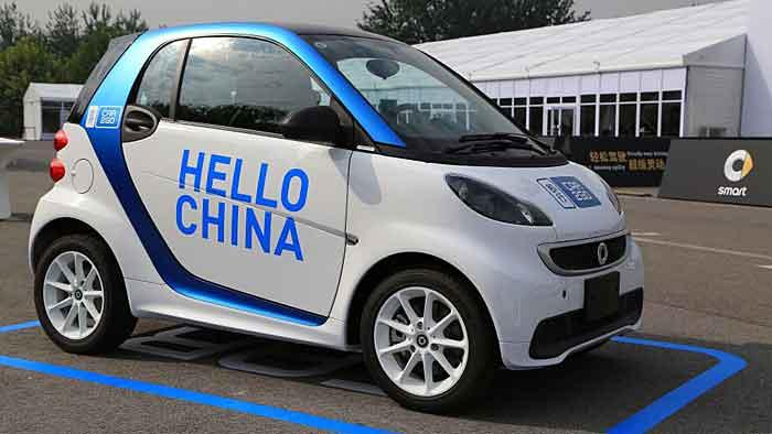 Car2go wird demnächst in China an den Start gehen.