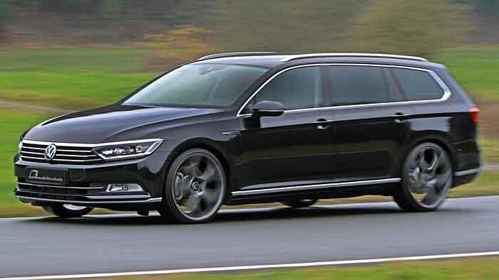 Leistungsplus für VW Passat-Topdiesel
