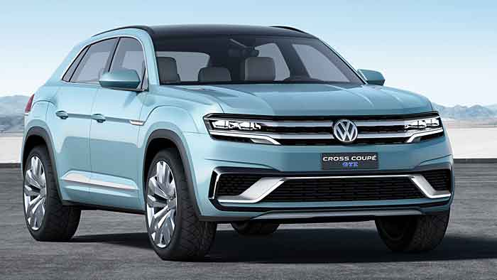 Das Cross Coupé GTE soll VW in den USA zum Erfolg führen.