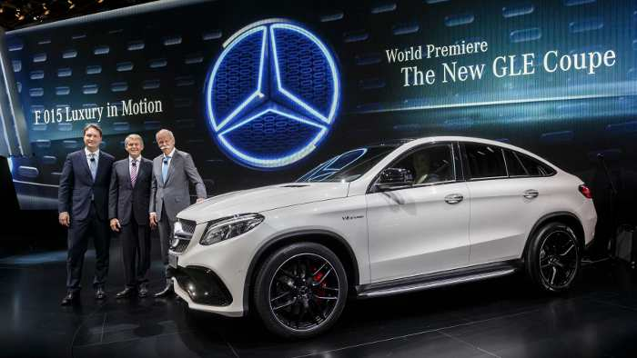 Mercedes startet SUV-Offensive mit GLE Coupé