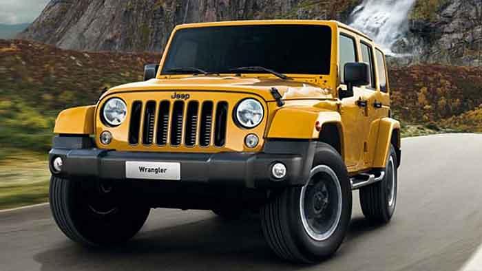 Nicht das erste Mal sind die Berge ein Thema beim Jeep Wrangler.
