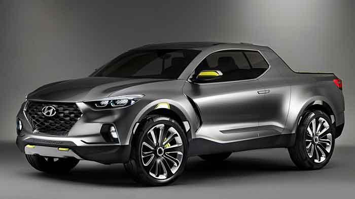 Hyundai kreuzt mit dem Santa Cruz Kompakt- und Pickupsegment.
