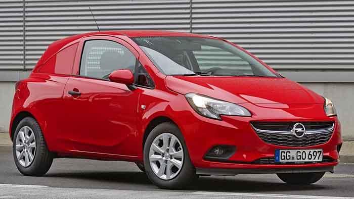 Opel bietet den Corsa auch als Nutzfahrzeugvariante an.