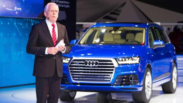 Audi beruft neuen Technikvorstand und Ermittler