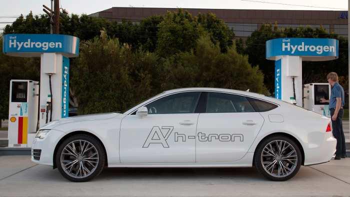 Der Audi A7 h-tron