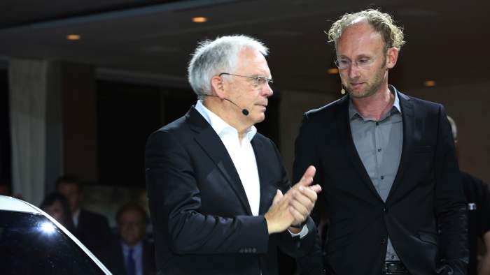 Ulrich Hackenberg (l.) und Marc Lichte