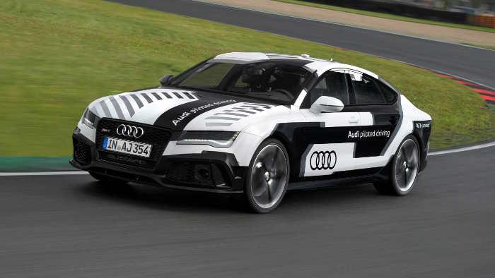 Audi sieht sich beim autonomen Fahren in der Führungsrolle.