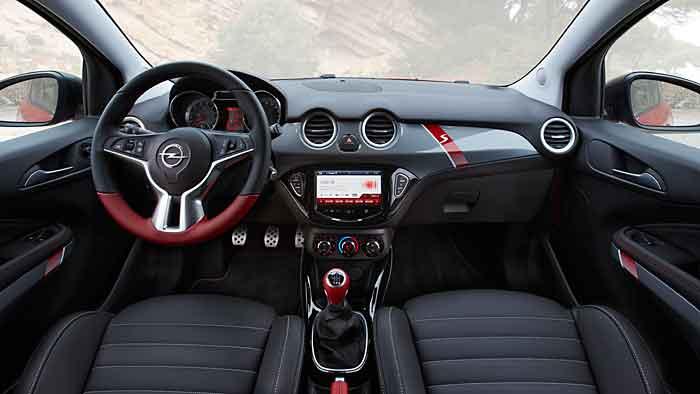 Der Opel Adam S verfügt über 150 PS.