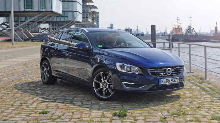 Der Volvo V60 ist mit neuen Motoren unterwegs.