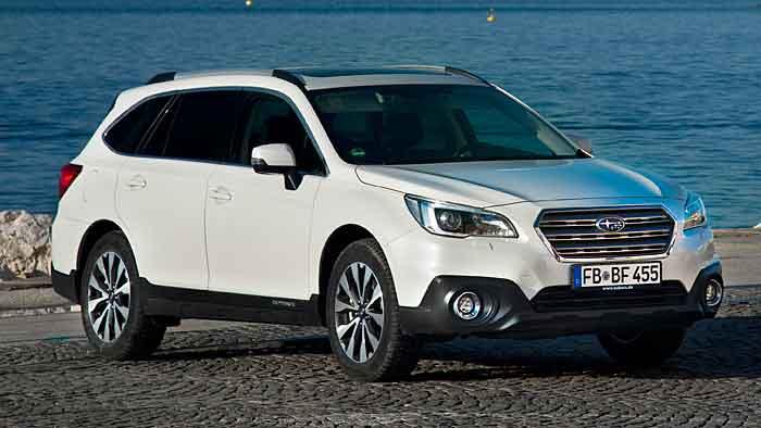 Der neue Subaru Outback steht in den Startlöchern.