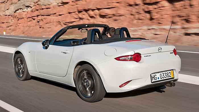 Bei 22.990 Euro beginnen die Preise für den neuen Mazda MX-5.