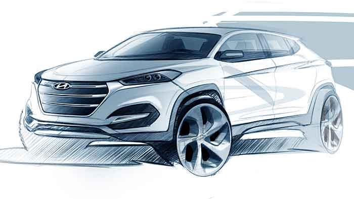 Der neue Hyundai Tucson feiert Premiere in Genf.
