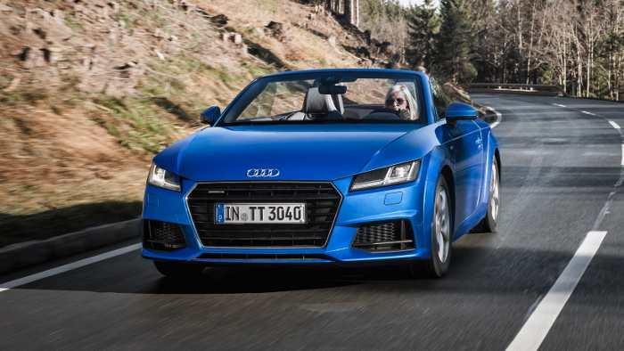 Der Audi TT Roadster kommt jetzt auf den Markt.