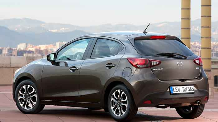 Der neue Mazda2 ist gleich um 14 Zentimeter in der Länge gewachsen.