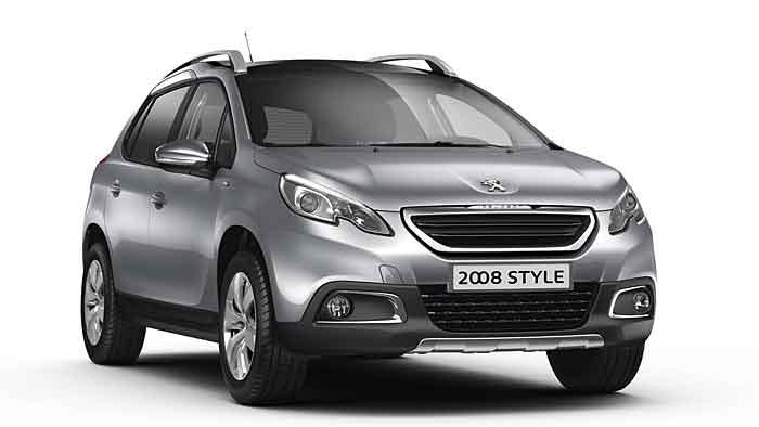 Peugeot wertet auch den 2008 als Style-Modell auf.