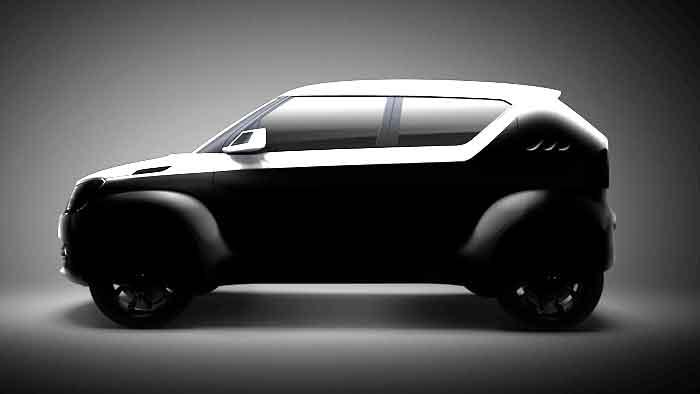 Das Concept Car Suzuki iM-4 feiert Premiere in Genf.
