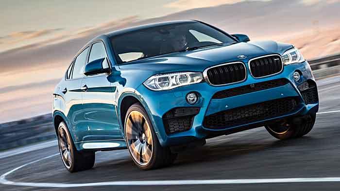 Die neue Generation des BMW X6 legte kräftig zu.