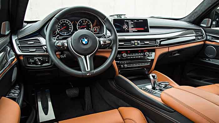 575 PS wurden dem BMW X6 M mitgegeben.