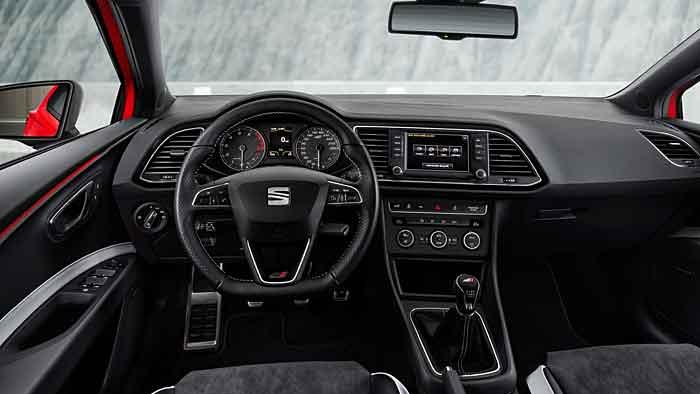 Der Seat Leon Cupra ST ist für die Rennstrecke konzipiert.
