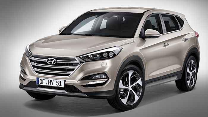 Der neue Hyundai Tucson startet in der zweiten Jahreshälfte.