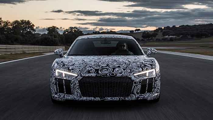 Der Audi R8 verfügt nun über mindestens 540 PS.