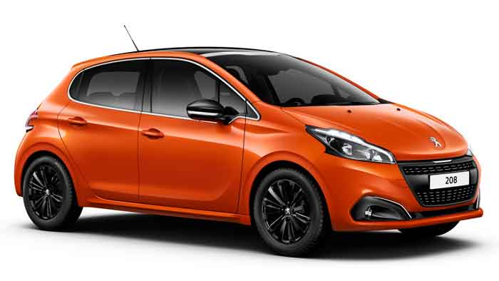 Modifizierter Peugeot 208 steigt in höhere Regionen