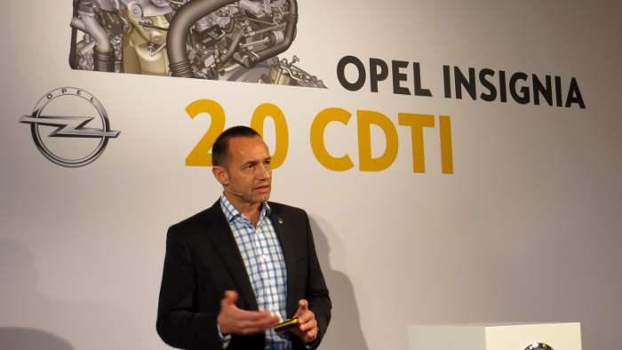 Jürgen Keller verantwortet den deutschen Vertrieb von Opel.