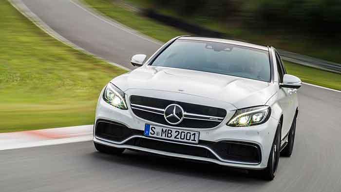 Mercedes-AMG: Sportliches C-Klassen-Menü