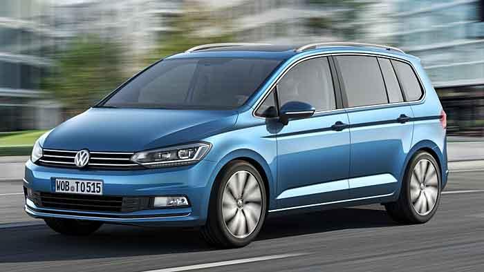 Mehr Platz im neuen VW Touran