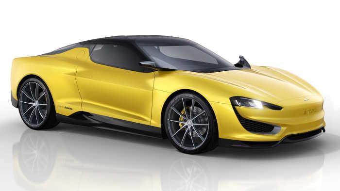 Magna zeigt Hybridsportwagen Mila Plus