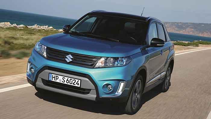 Der Suzuki Vitara sieht ansprechend aus.