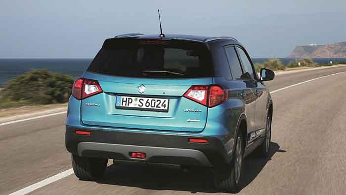 Der Suzuki Vitara präsentiert sich sparsam im Verbrauch.