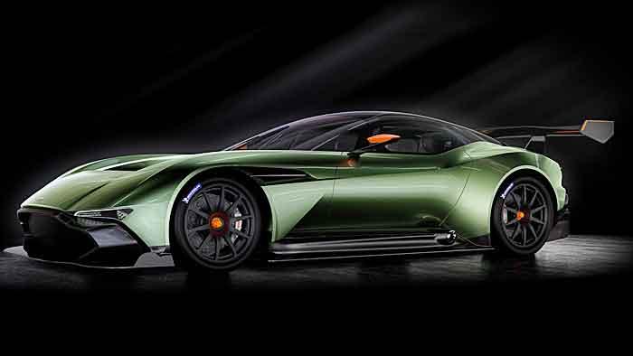Der Aston Martin Vulcan soll nur 24 Mal aufgelegt werden.