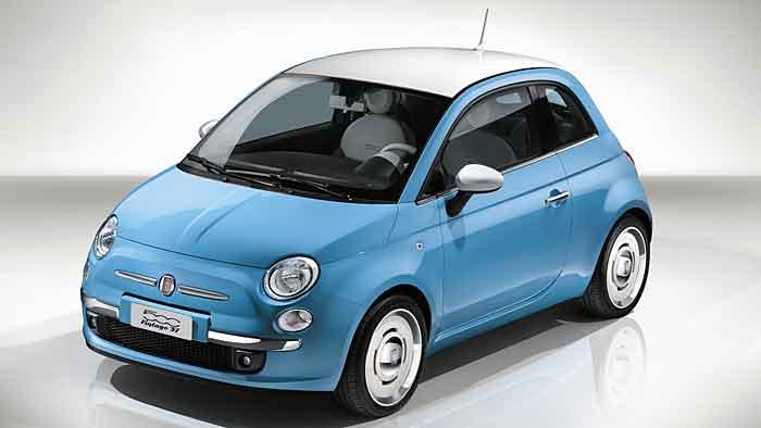 Fiat zeigt in Genf eine Retro-Version des 500ers.